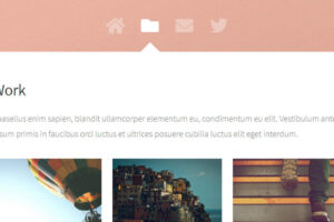 Astral free HTML website template