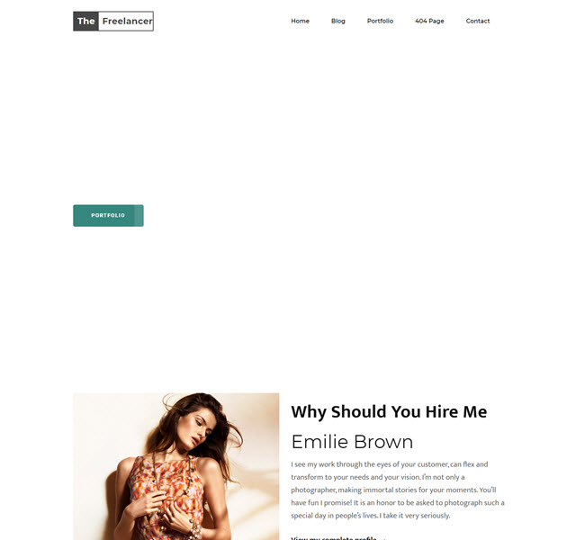 Thefreelancer Template